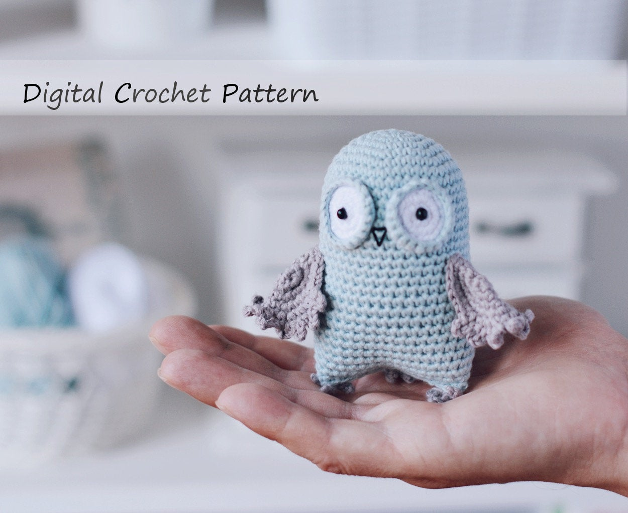 Crochet Owl Family Amigurumi Pattern - Repeat Crafter Me | 1022x1250