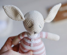 Load image into Gallery viewer, Two Crochet Rabbits Amigurumi Pattern - Firefly Crochet