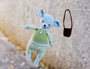 Crochet Pattern to make Mouse Stuffed Animal - Firefly Crochet