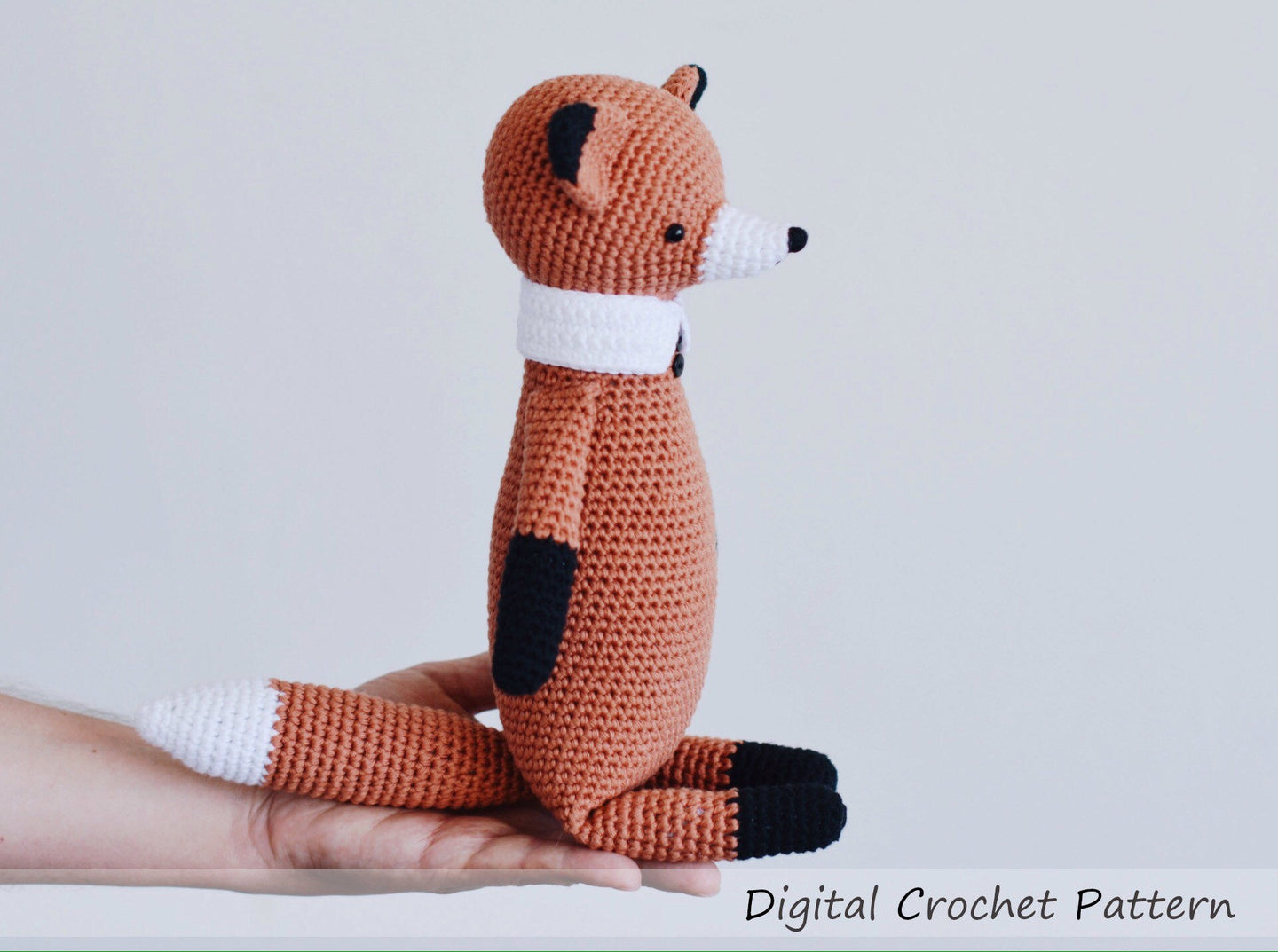 Fox Stuffed Animal Crochet Pattern - Firefly Crochet
