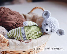 Load image into Gallery viewer, Crochet Pattern to make Mouse Stuffed Animal - Firefly Crochet