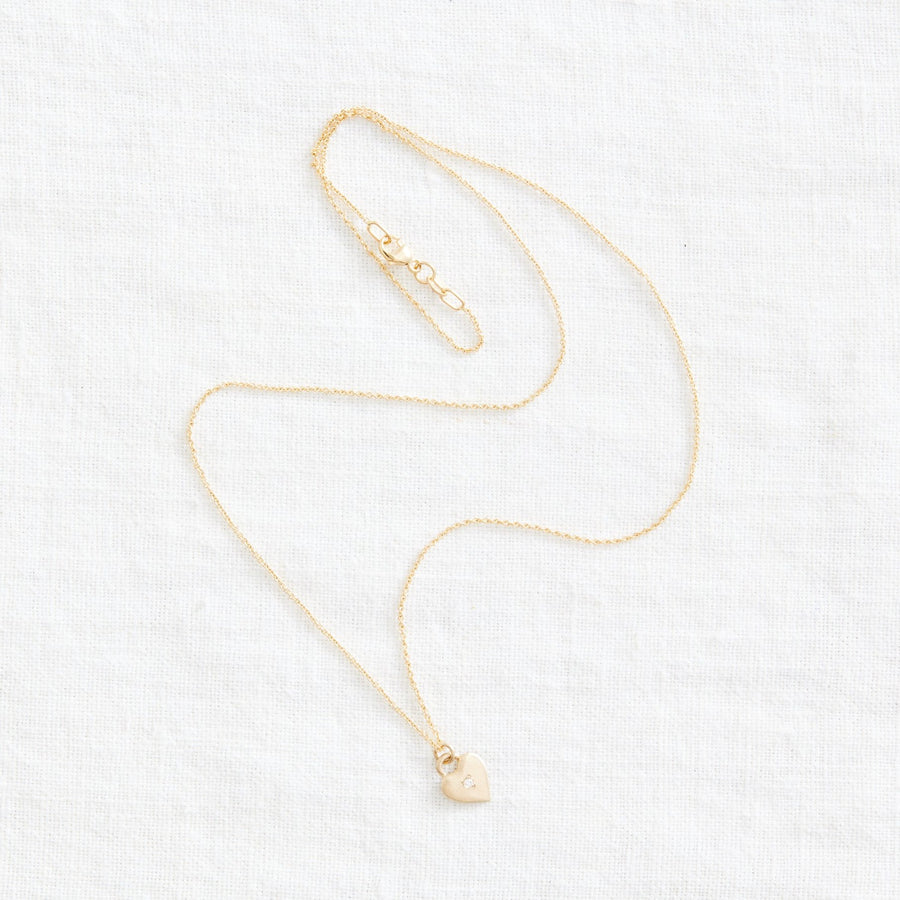 14k Love Necklace-Marisa Mason Jewelry-Marisa Mason Jewelry