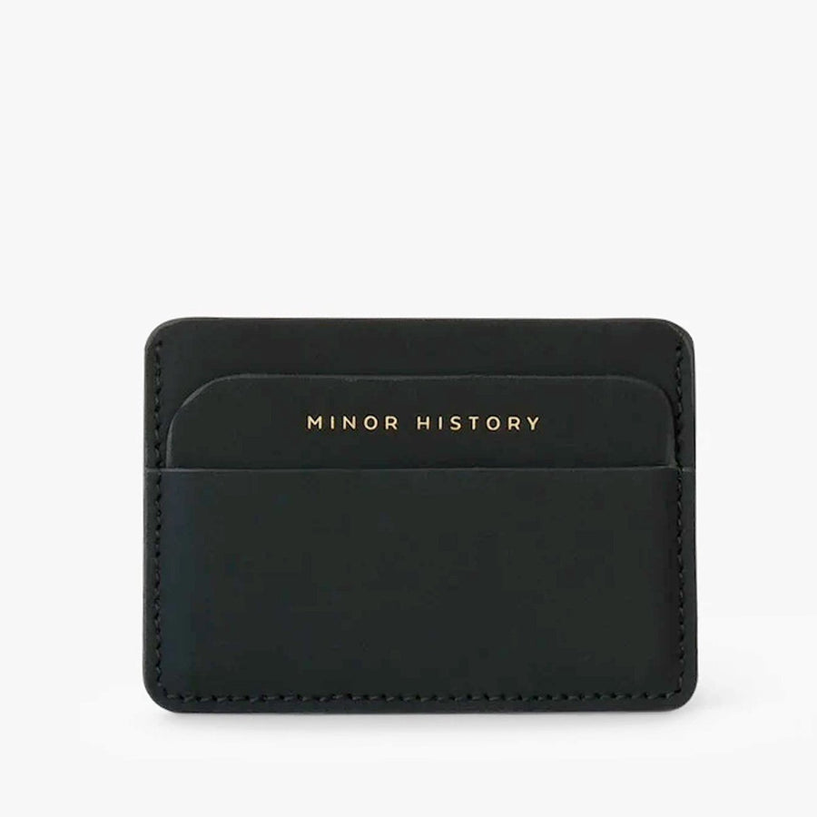 METRO Open Wallet-Minor History-Black-Marisa Mason Jewelry