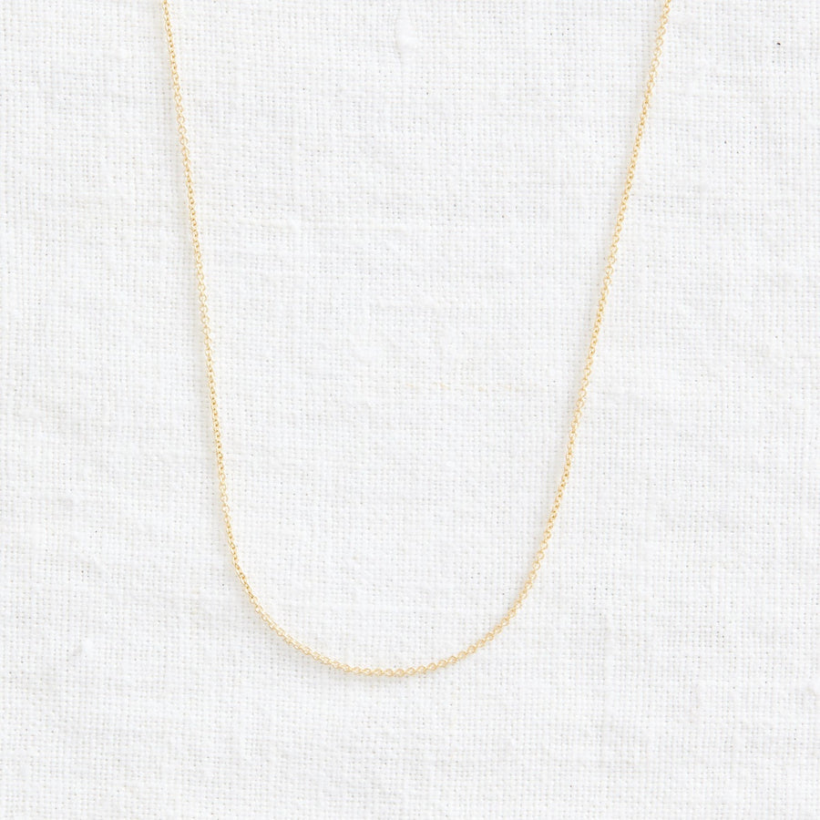 Classic Cable Chain-Gold Essentials-Marisa Mason Jewelry