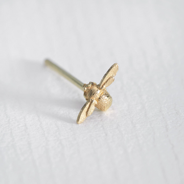 Isty Bitsy Bee Single Stud Earring