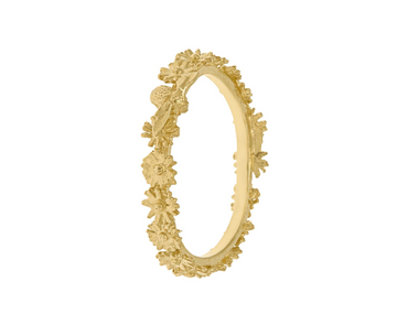 Itsy Bitsy Wreath Ring-Alex Monroe-Marisa Mason Jewelry