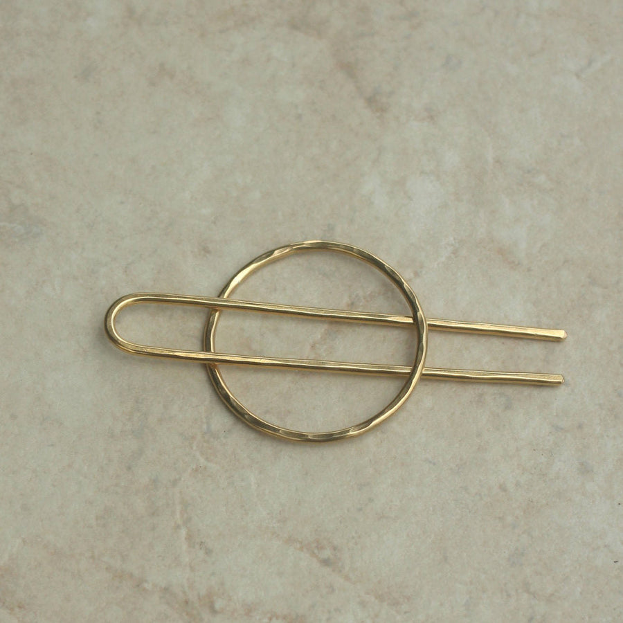 Circle and Fork Hairpin-Kapelika-Marisa Mason