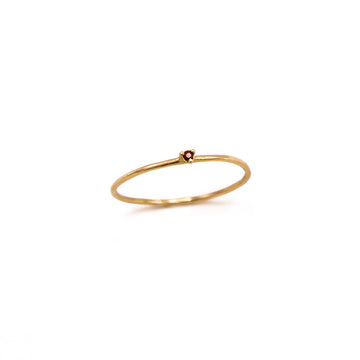 Stacking Gemstone Ring