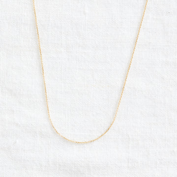 Shimmer Chain-Gold Essentials-Marisa Mason Jewelry