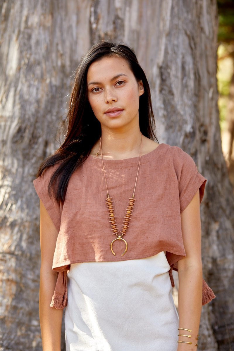 CHIMAYO Necklaces Black,Tan Marisa Mason Jewelry