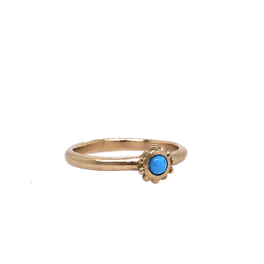 CHLOE RING TURQUOISE Rings 14k gold Marisa Mason Jewelry