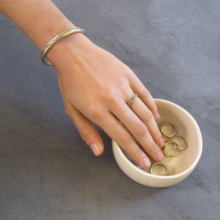 COSMIA Rings Brass, Sterling Silver Marisa Mason Jewelry