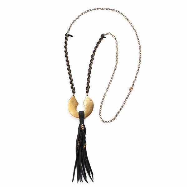 CYPRUS Necklaces Black,Tan Marisa Mason Jewelry