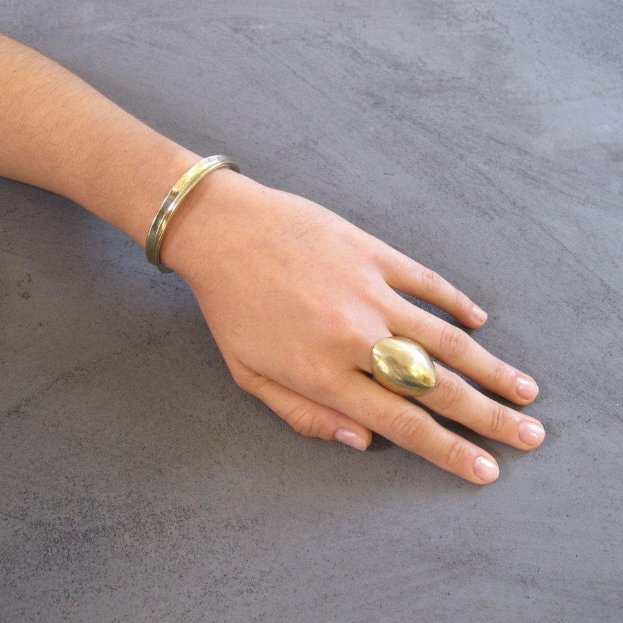 DOMA Rings Brass, Sterling Silver Marisa Mason Jewelry