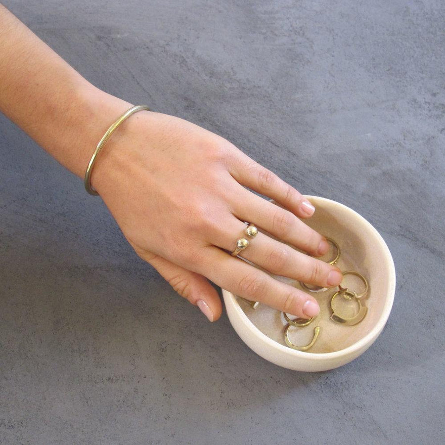 EMMA Rings Brass, Sterling Silver Marisa Mason Jewelry