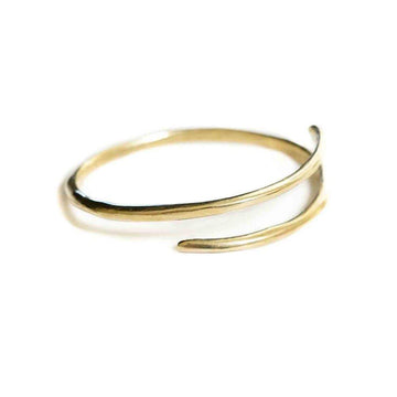 ETERNITY BANGLE-Marisa Mason Jewelry-Brass-Marisa Mason Jewelry
