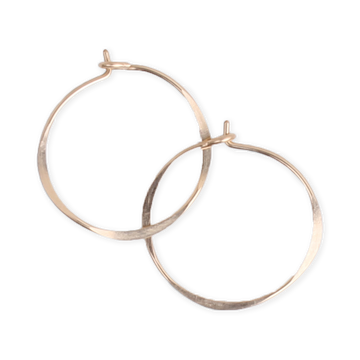 Fail Jewelry Round Hoops