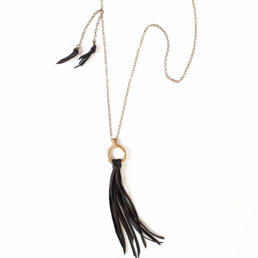 FOXEN Necklaces Black,Tan Marisa Mason Jewelry