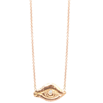 Chazona Eye Necklace-Workhorse-Marisa Mason