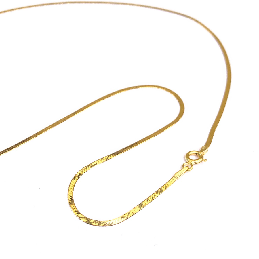 Herringbone Petite-Gold Essentials-Marisa Mason Jewelry