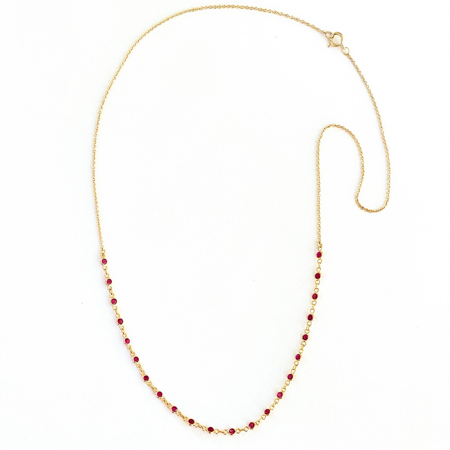 Kora Necklace Ruby