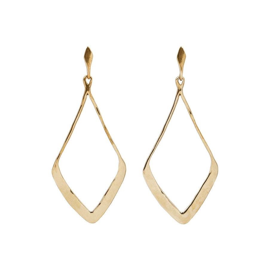 INEZ Earrings Brass, Sterling Silver Marisa Mason Jewelry