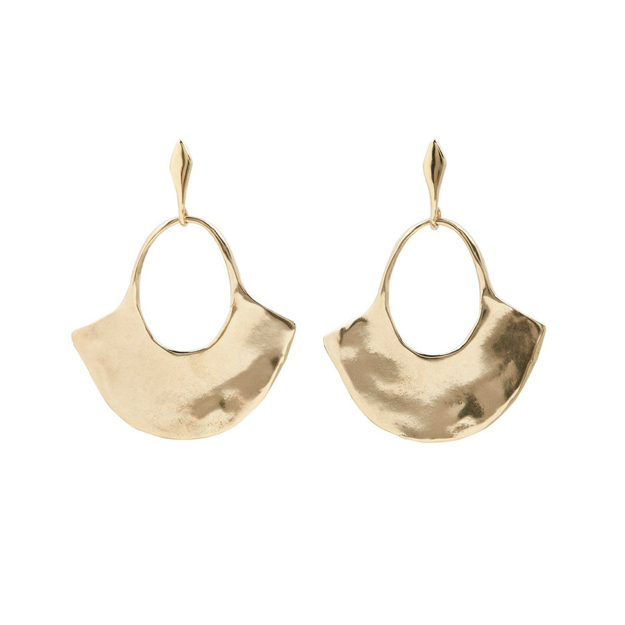 LINA Earrings Brass, Sterling Silver Marisa Mason Jewelry