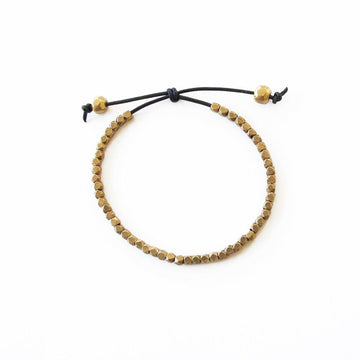MIA FACET Bracelets Black,Tan Marisa Mason Jewelry