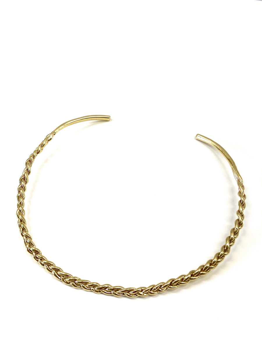 MYKONOS COLLAR Necklaces Brass,Sterling Silver Marisa Mason Jewelry