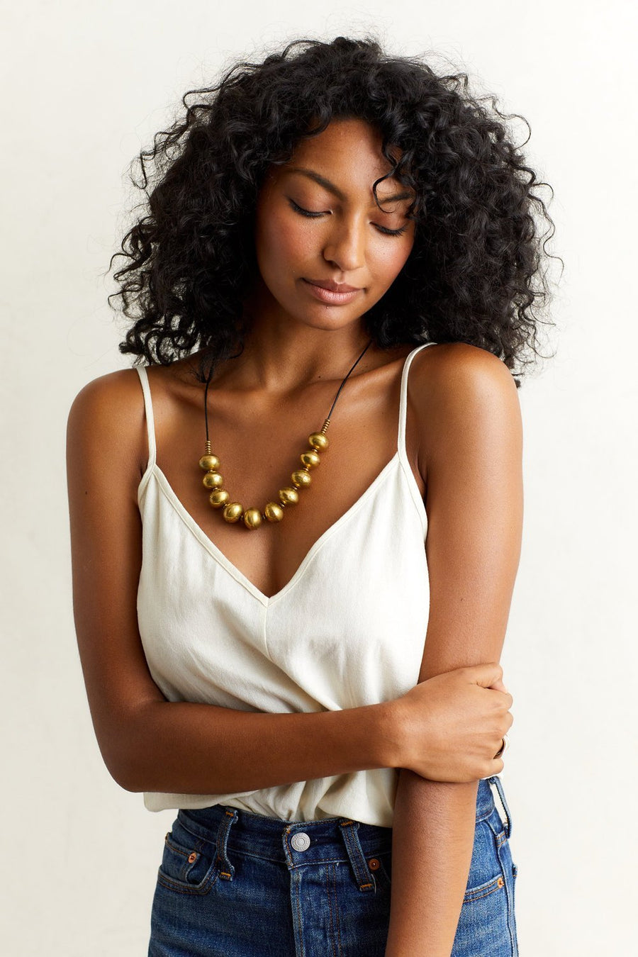 NERO Necklaces Black,Tan Marisa Mason Jewelry