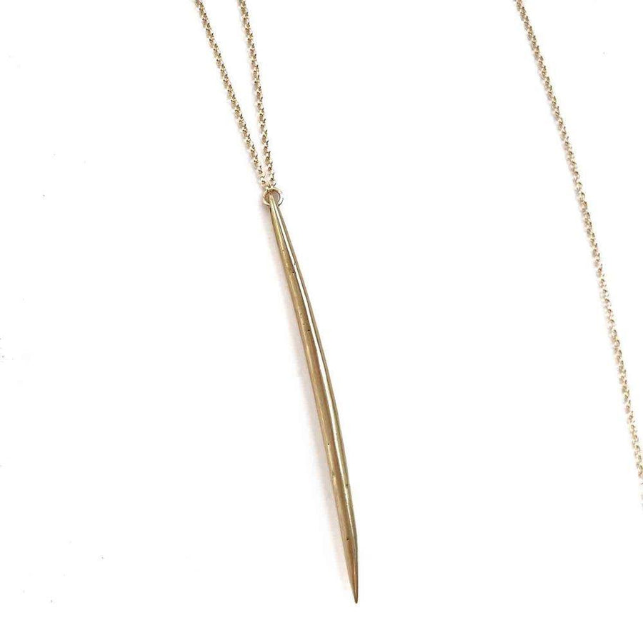 OAKLAND Necklaces Brass Marisa Mason Jewelry