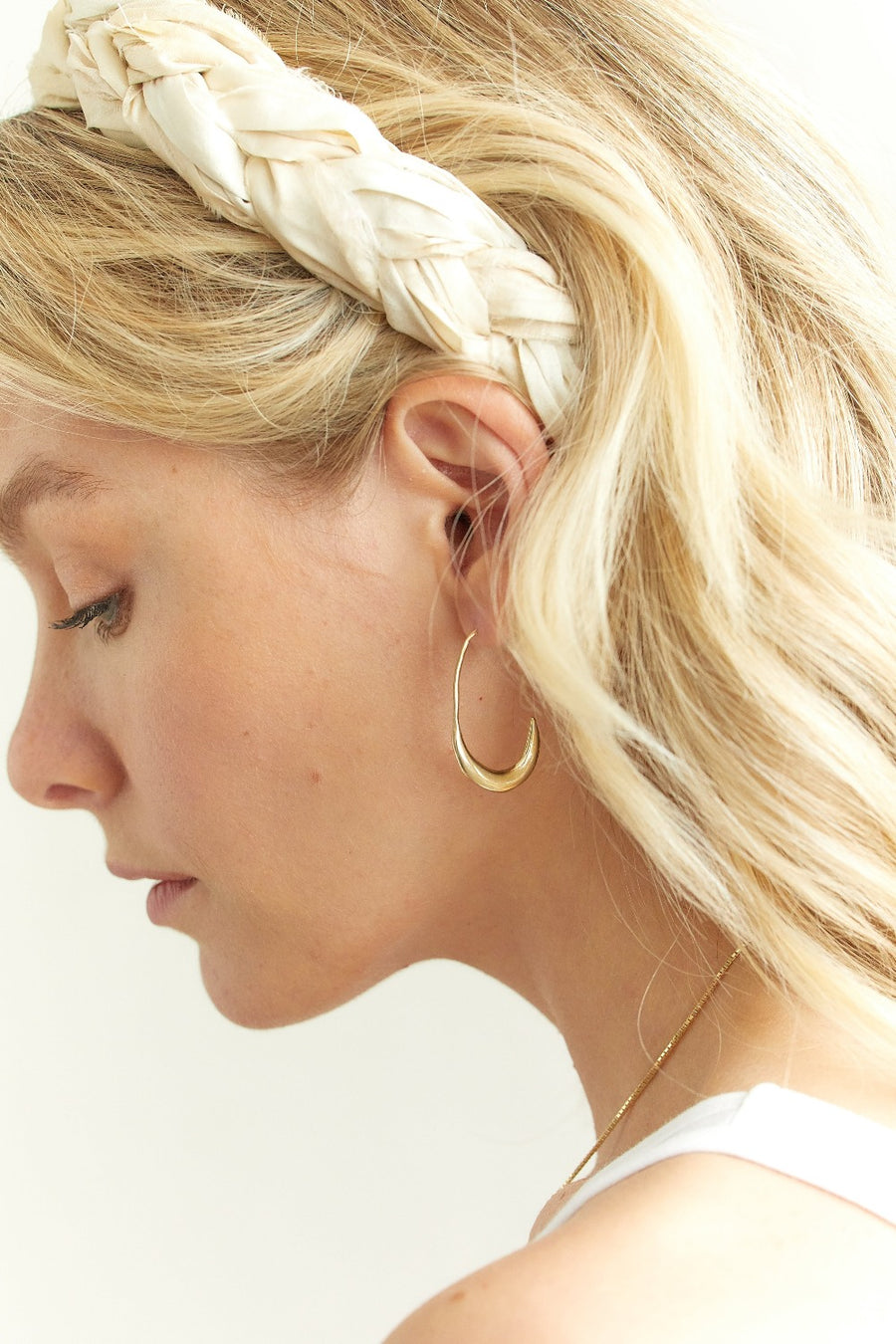 OLYMPUS HOOPS Earrings Brass with gold fill,Sterling Silver Marisa Mason Jewelry