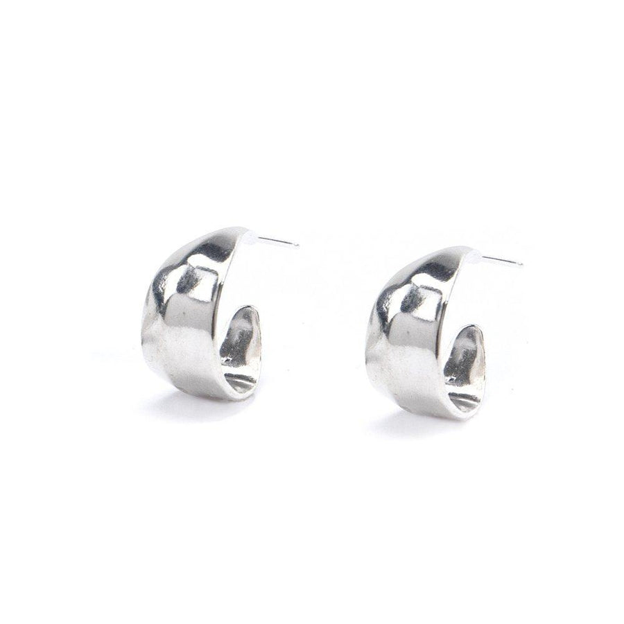 PANDORA Small Earrings Brass with sterling silver earwire,Sterling Silver Marisa Mason Jewelry