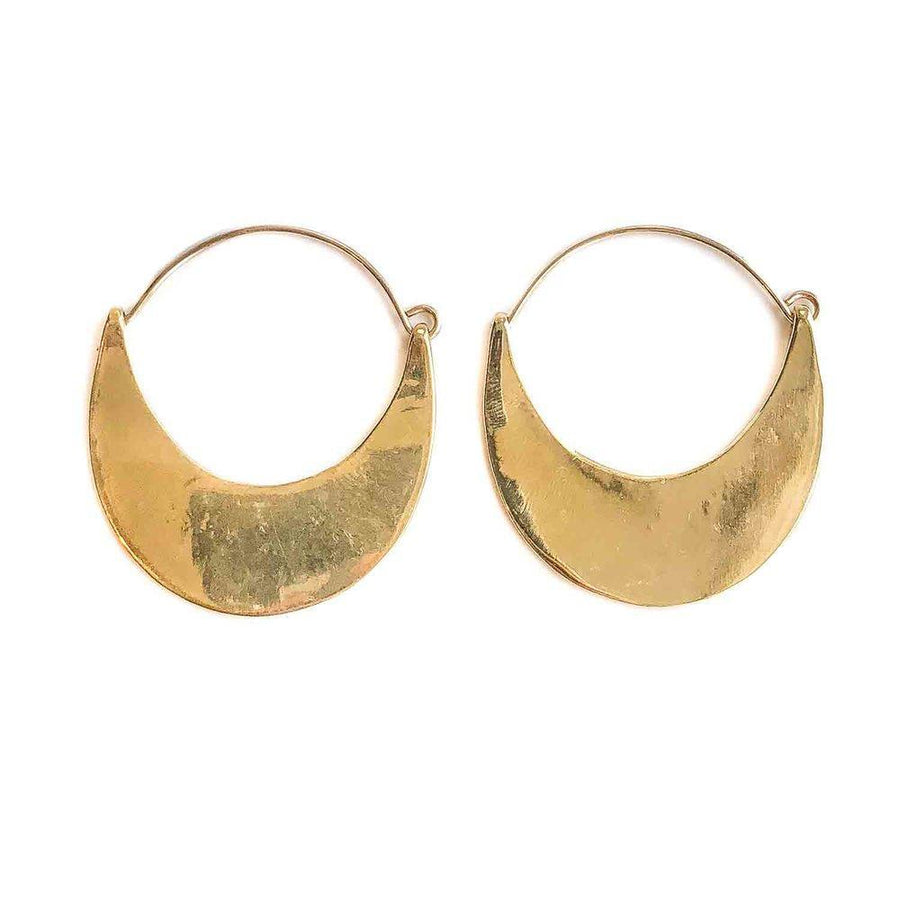 PLAINS Earrings Brass, Sterling Silver Marisa Mason Jewelry