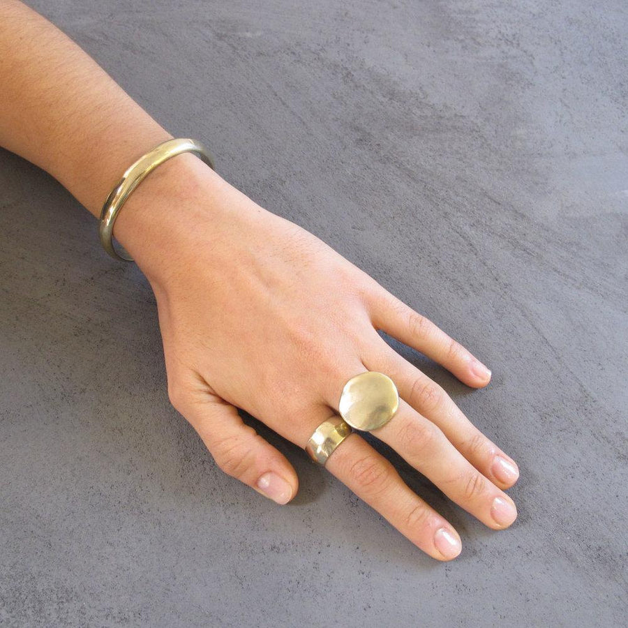 PUENTE Rings Brass, Sterling Silver Marisa Mason Jewelry