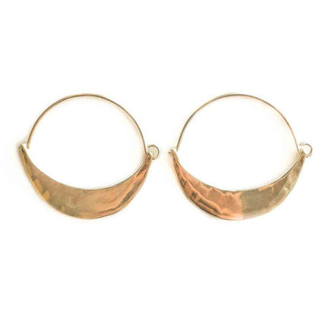 SUMMERLAND Earrings Brass with gold fill,Sterling Silver Marisa Mason Jewelry