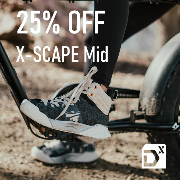 25% OFF X-SCAPE Mid