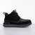 Men's KO-Z CHUKKA black dark grey desert boot lateral view