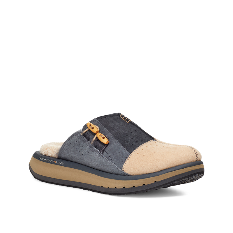 Men's KO-Z MULE / BROWN - DARK GREY