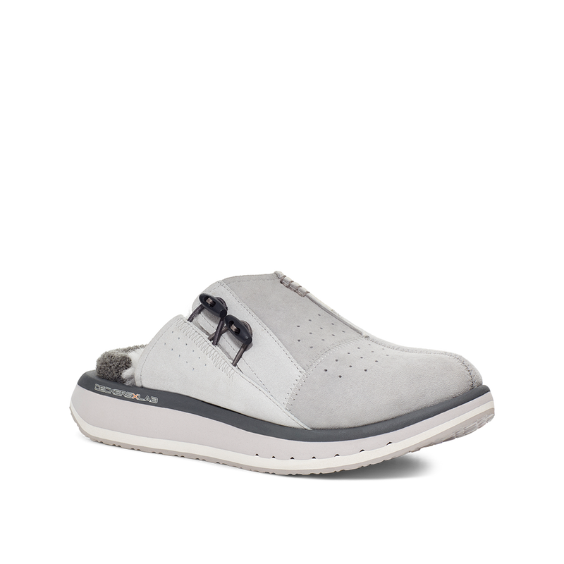 Men's KO-Z MULE / GREY - WHITE
