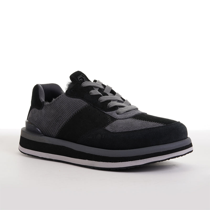 Men's KO-Z Sport Low / BLACK - DARK GREY