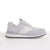 Men's KO-Z SPORT Low sheepskin lace up sneaker slipper white light grey lateral view
