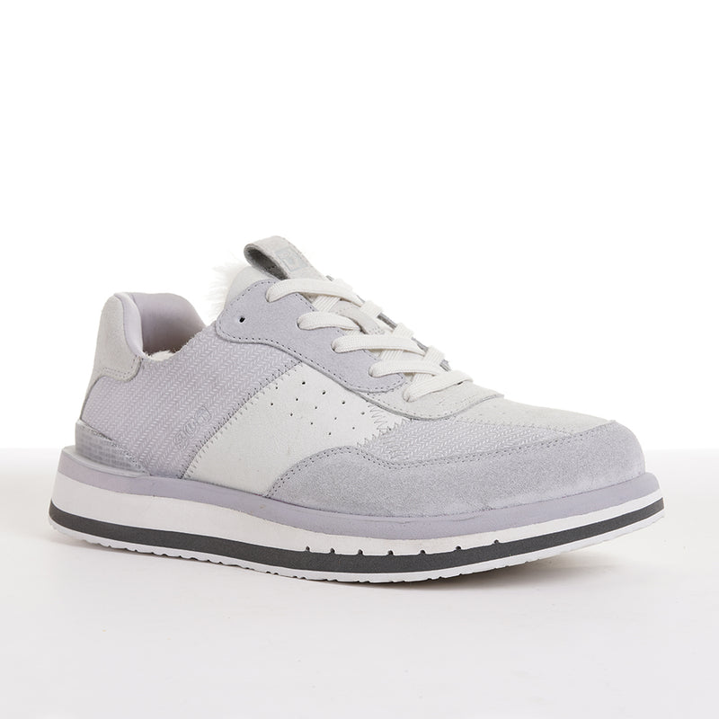 Men's KO-Z Sport Low / LIGHT GREY - SNOW WHITE