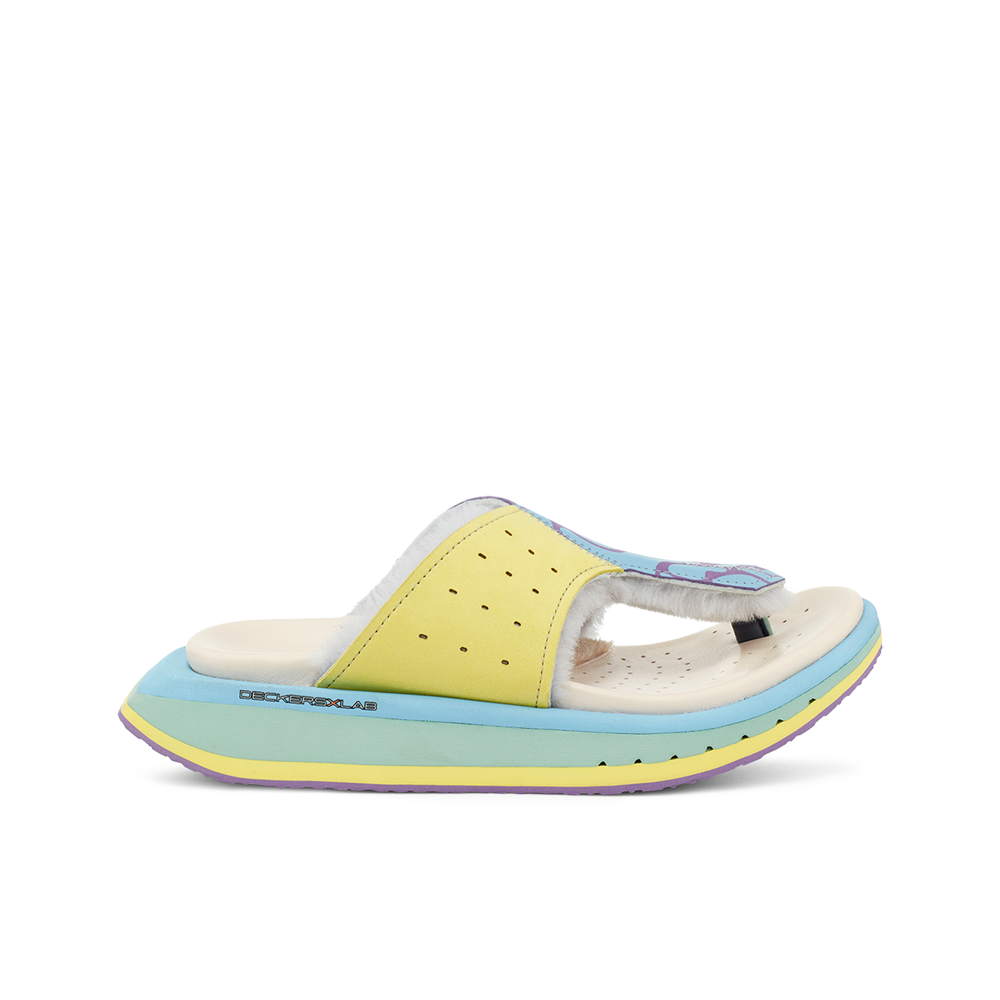 Women's KO-Z GLDTR 3 / PASTEL YELLOW - GREEN BLUE