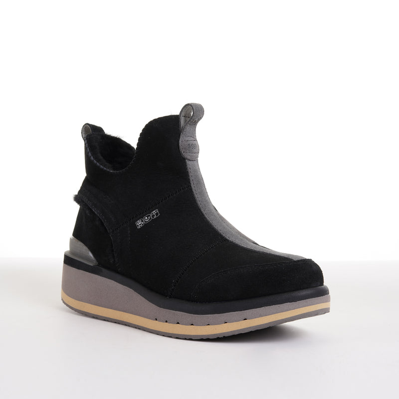 Women's KO-Z SNPR Mid Wedge / Black - Satellite