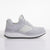 Women's KO-Z SPORT Low Wedge sheepskin lace up sneaker slipper white lateral view