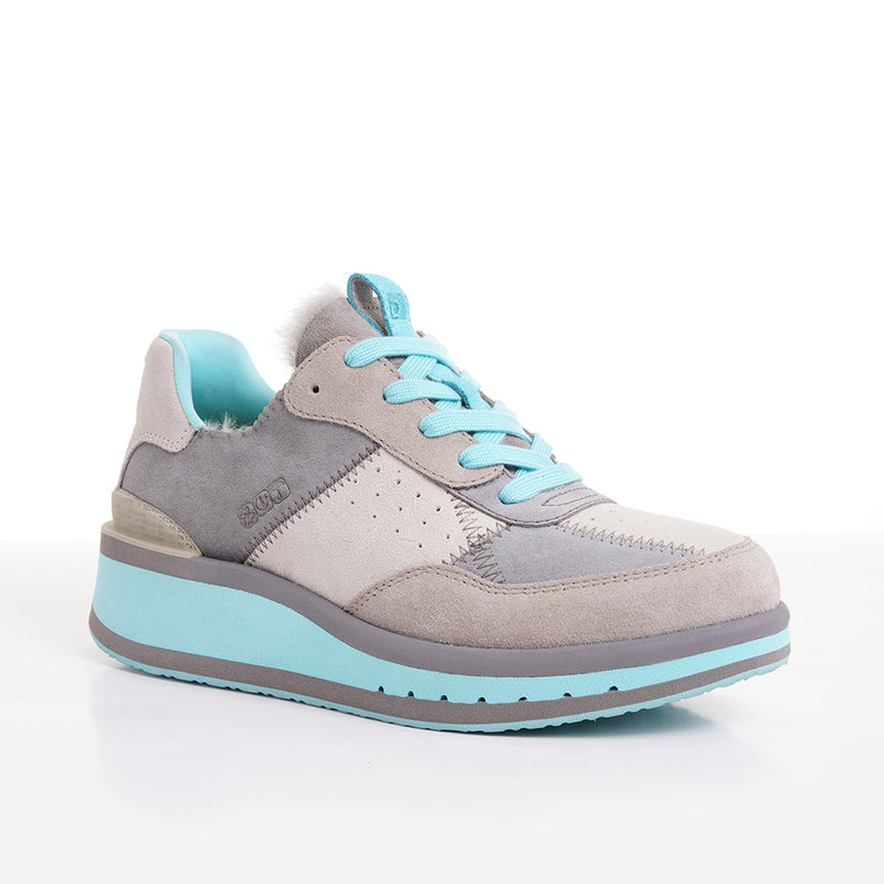 Women's KO-Z Sport Low Wedge / Satellite - Light Taupe