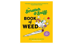 Scratch N Sniff Book of Weed