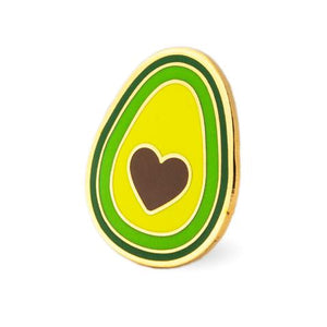 THESE ARE THINGS Enamel pin Avocado