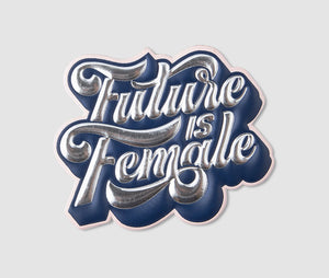 "PRINTWORKS Sticker ""Future Is Female"""